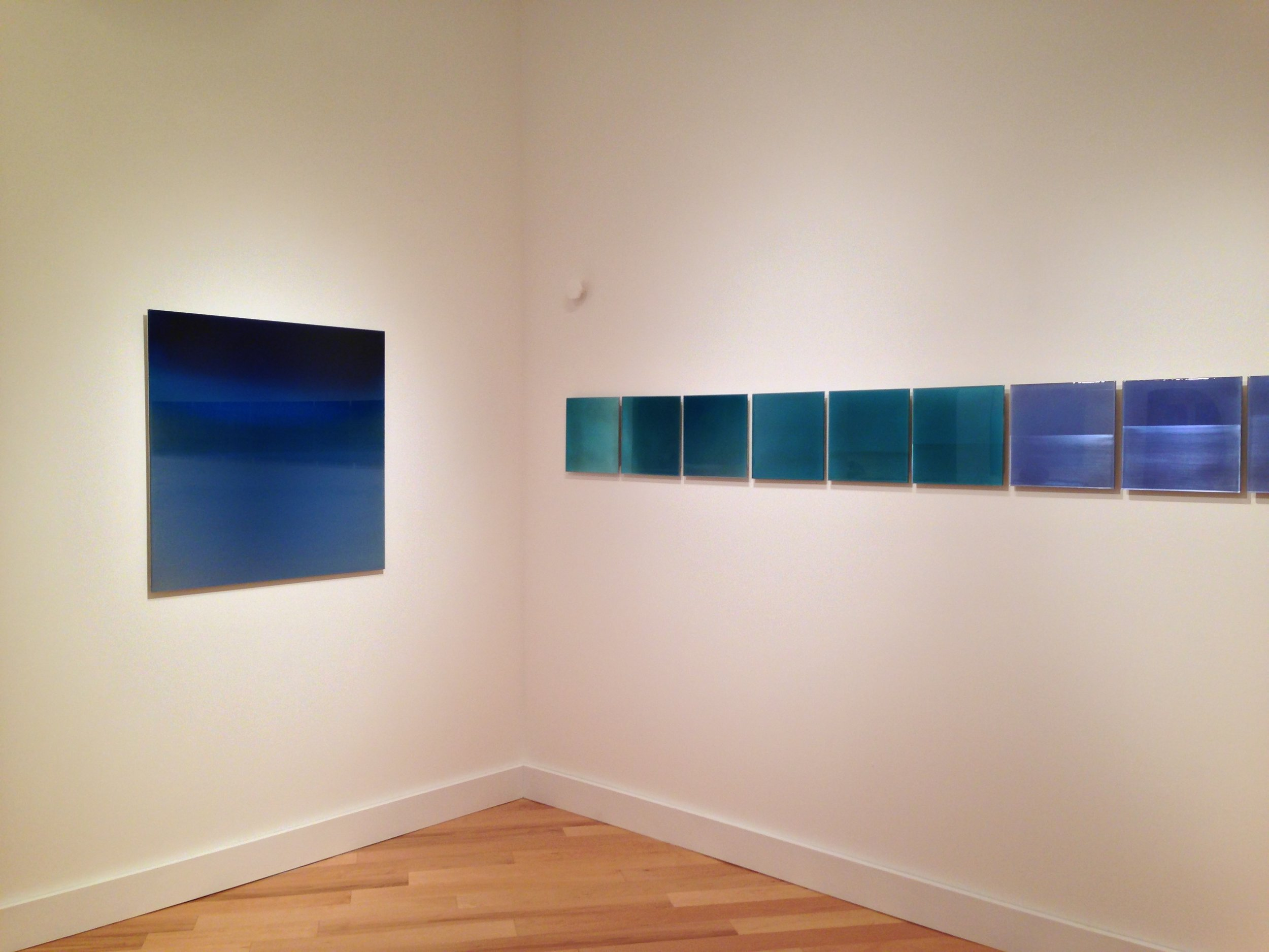 """TIDES & THE PHASES OF THE MOON,"" K IMPERIAL GALLERY, SAN FRANCISCO 2013"