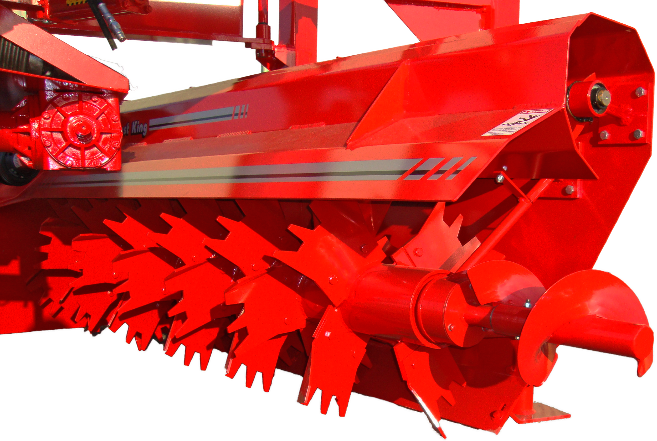 Kompost King Poultry Litter Windrower Machine Augers