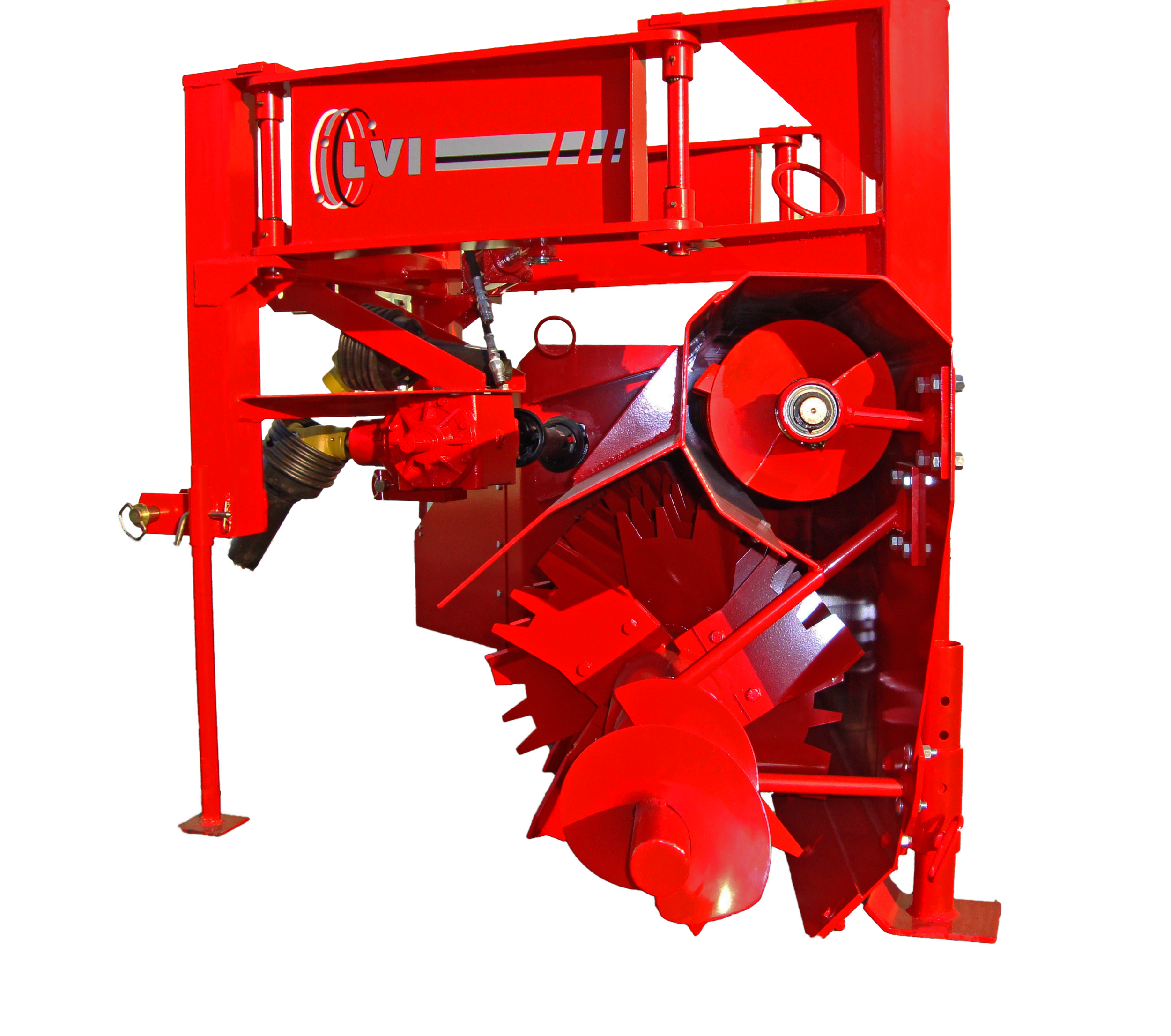 Kompost King Poultry Litter Windrower Machine Side