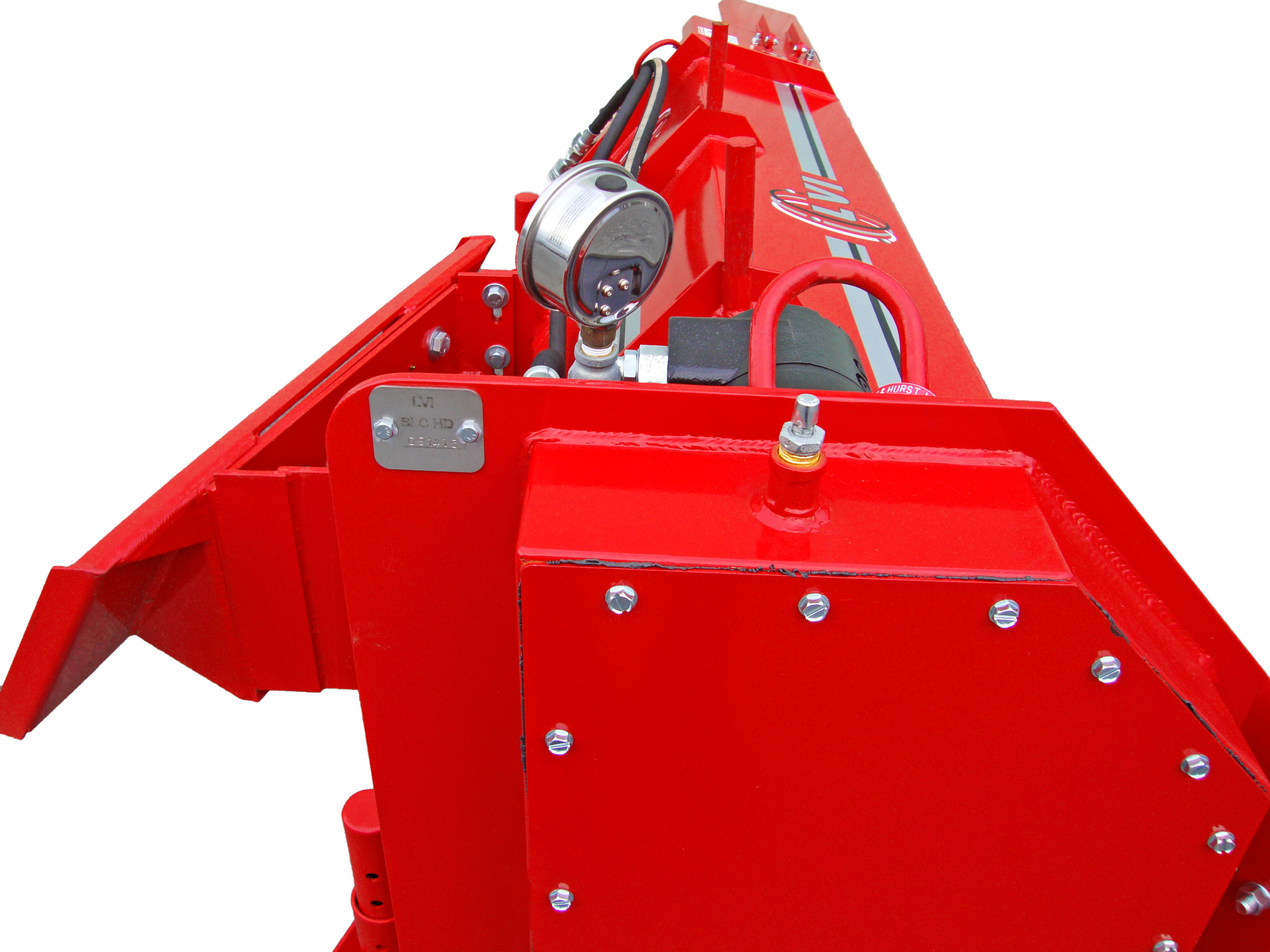 SLC-HD Poultry Litter Windrower Machine Top