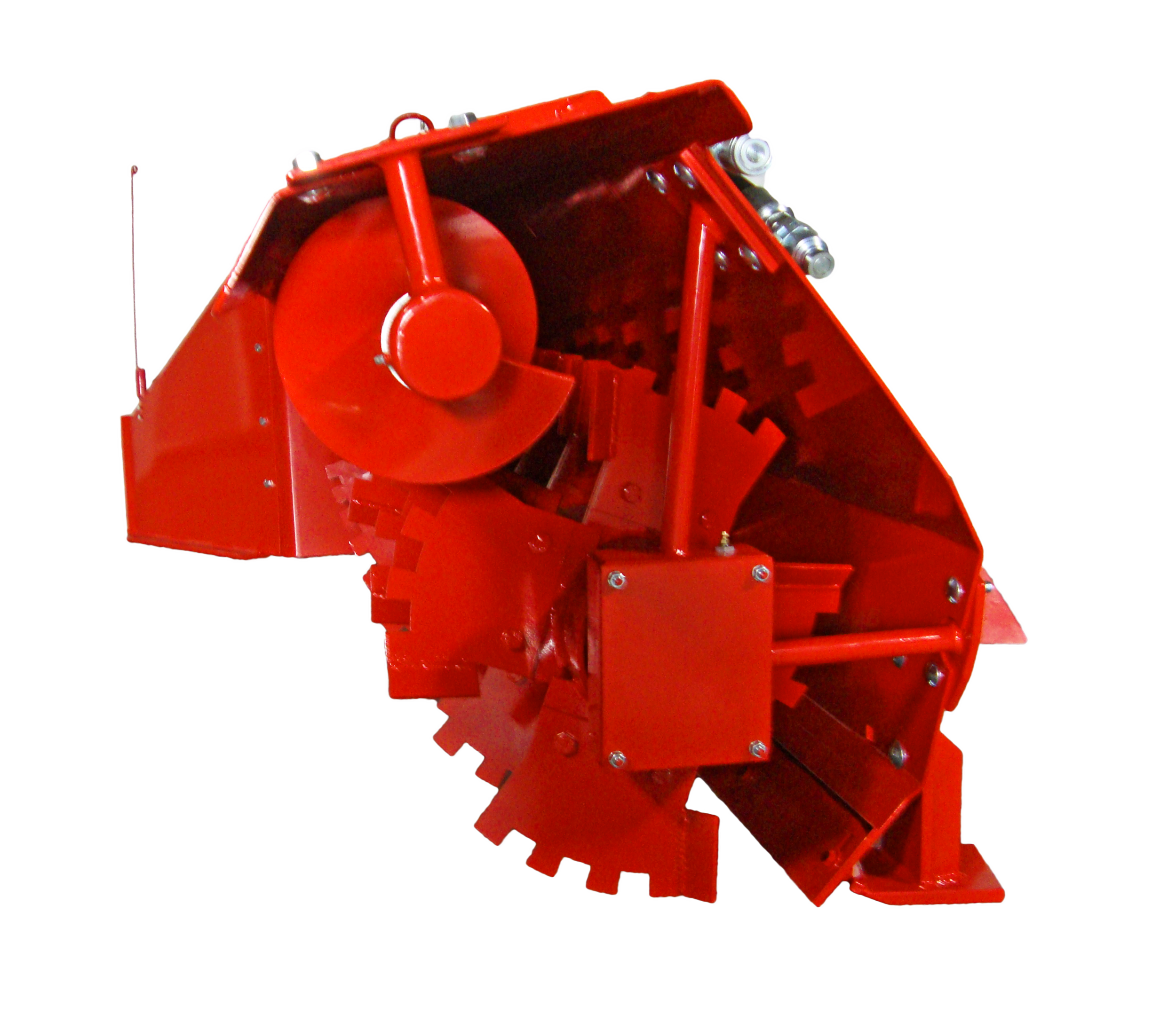 SL-84 Poultry Litter Windrower Machine Auger