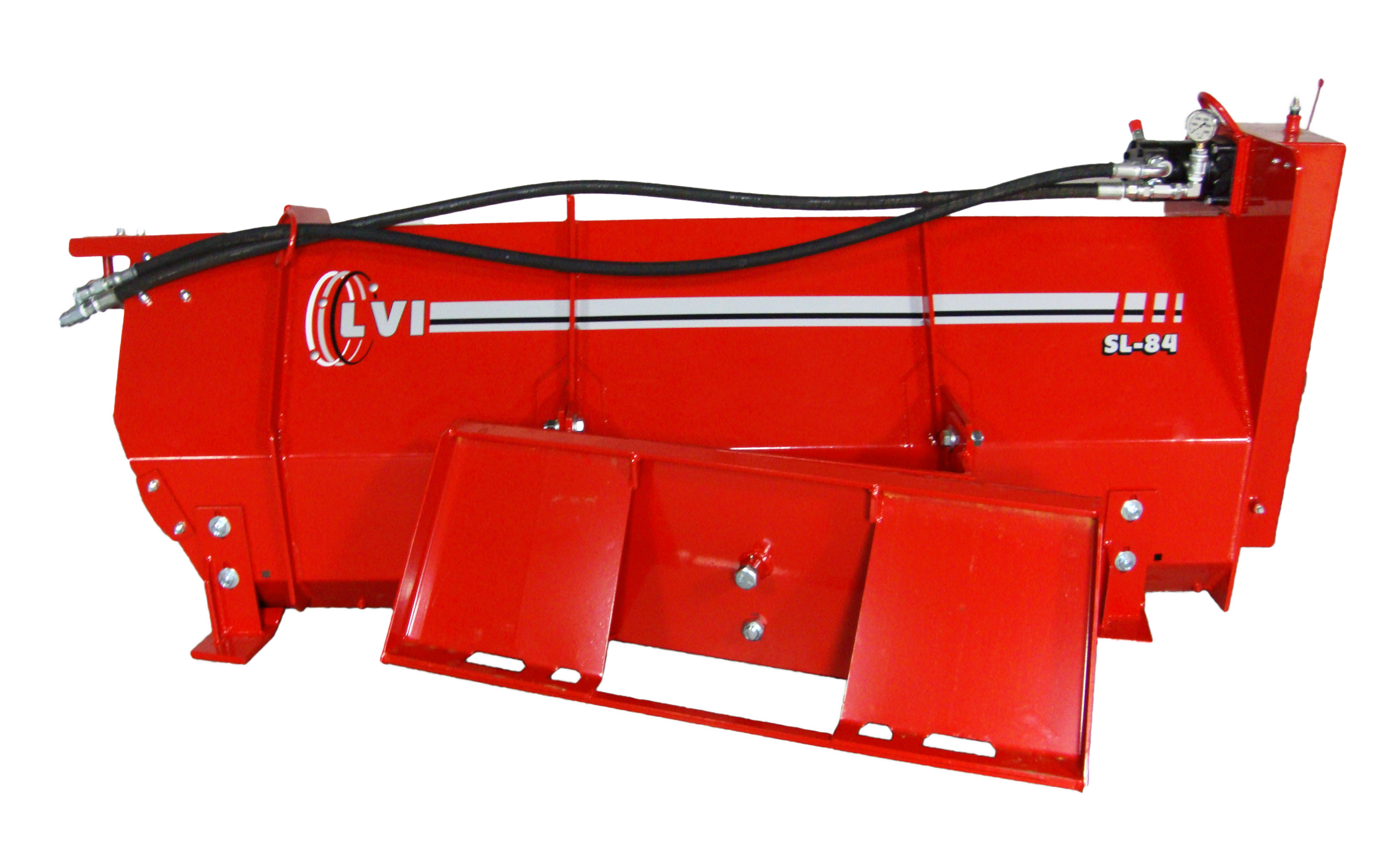 SL-84 Poultry Litter Windrower Machine Back