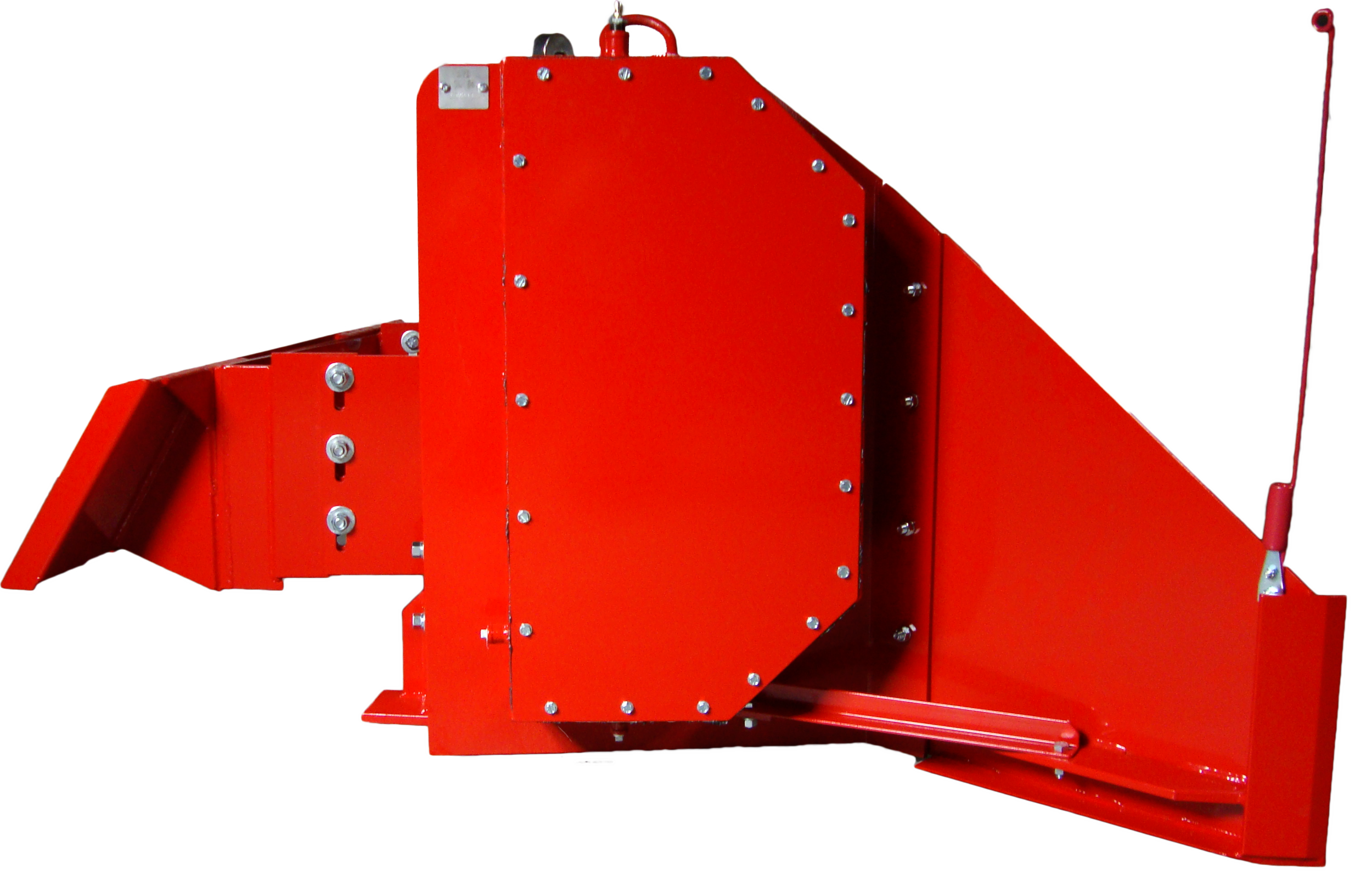 SL-84 Poultry Litter Windrower Machine Wall Side