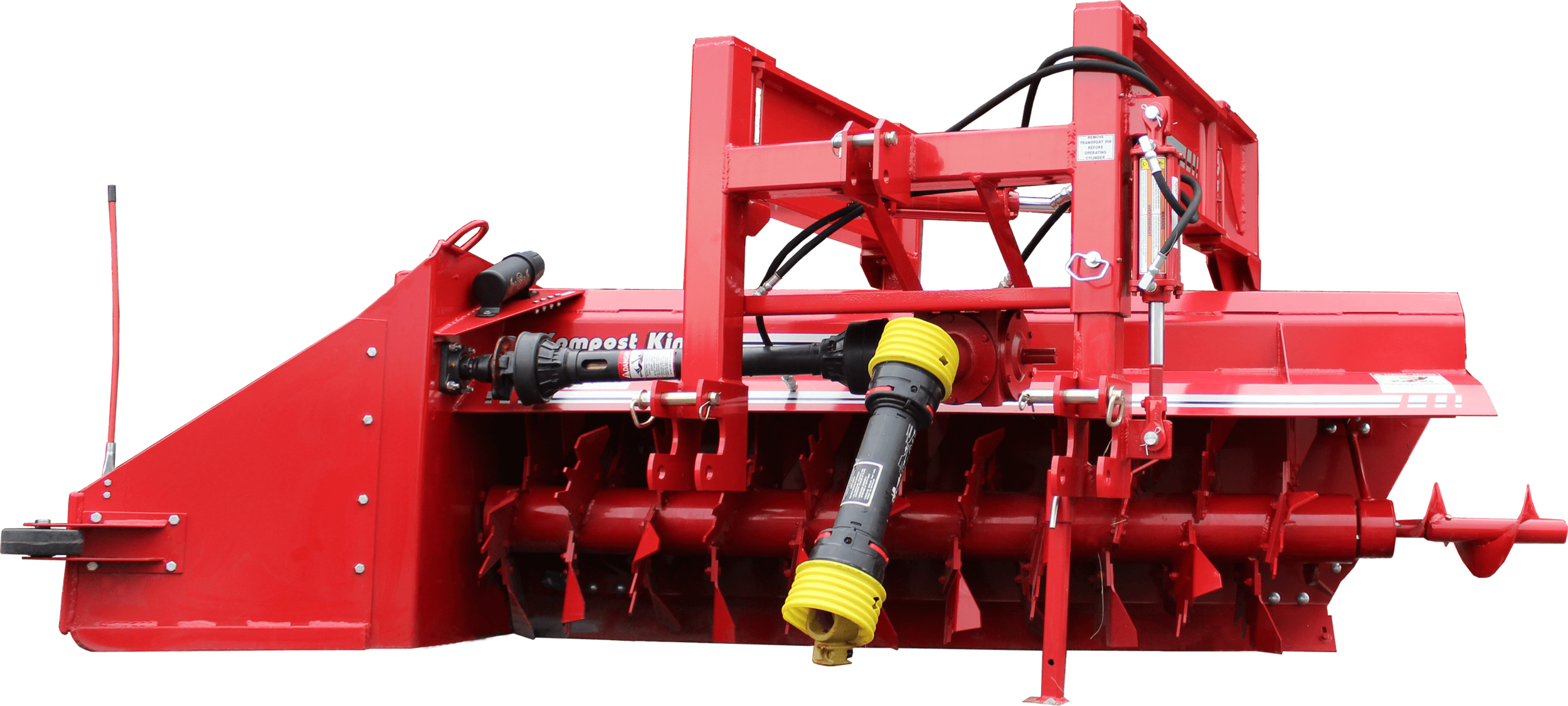 Kompost King - 3-Point Windrower