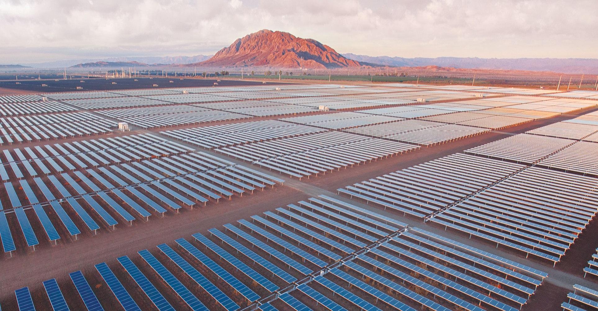 Centinela Solar Energy facility – 170MW