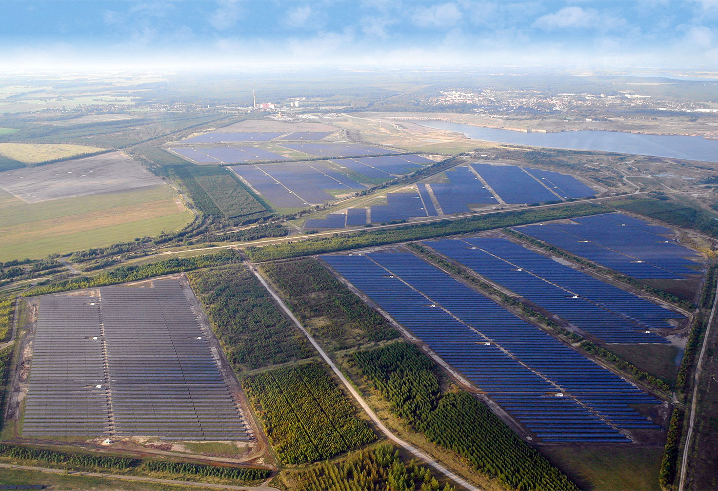 Senftenberg Solarpark -148 MW
