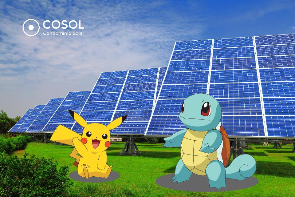 Pokemon Cosol energia solar