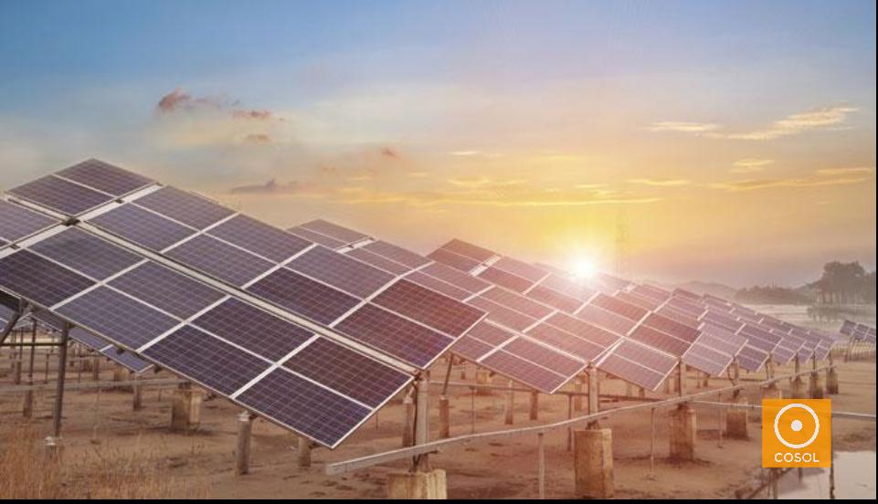 energia solar + cosol + eletricidade