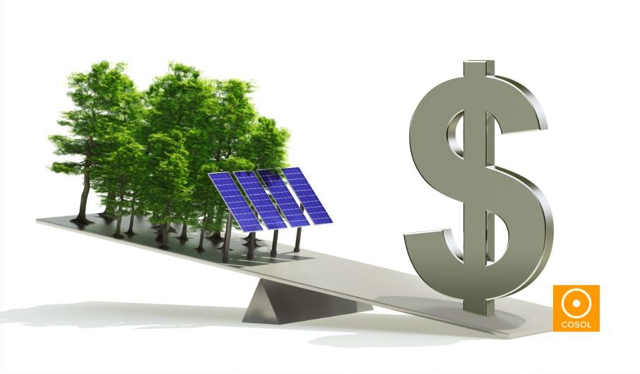economia + energia solar + cosol