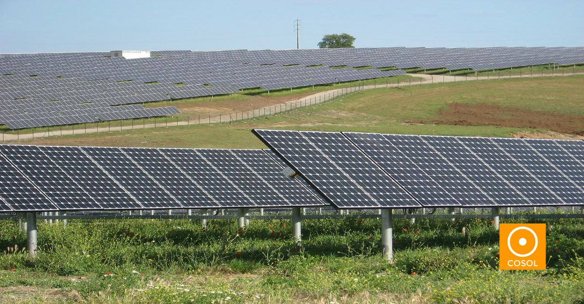 Condomínio solar caracterizado pelo conjunto de lotes solares