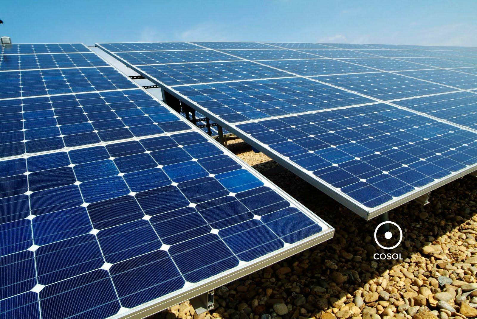 usina solar + energia + cosol