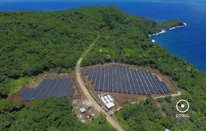 ilha solar + cosol