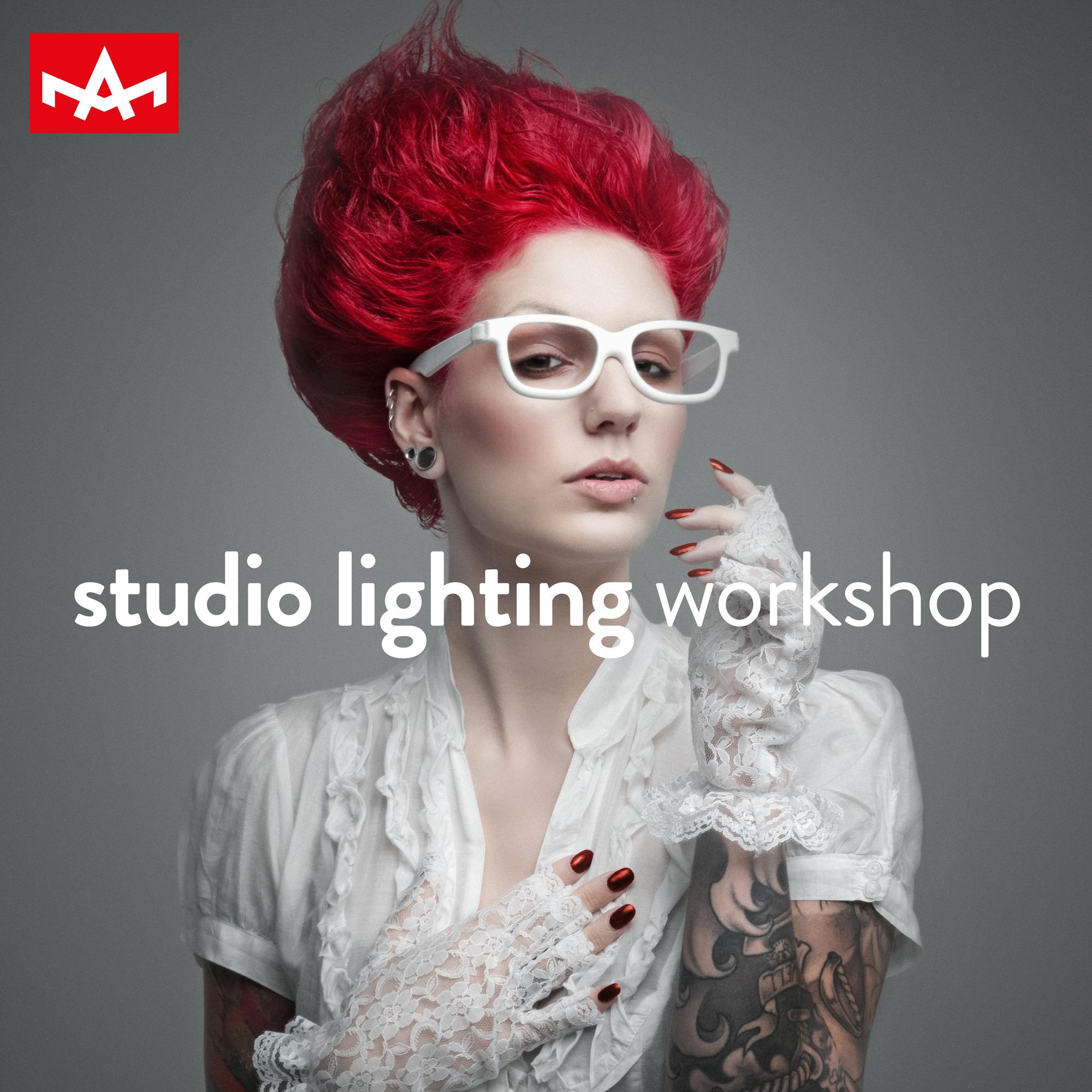Studio lighting workshop / 12 April 2017