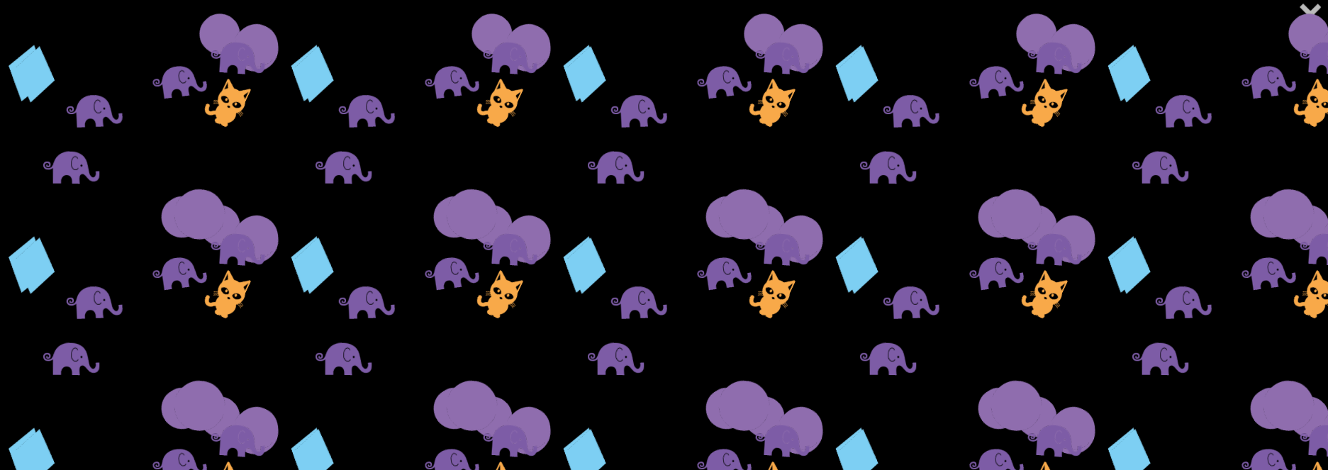 Example of pattern created with Forma