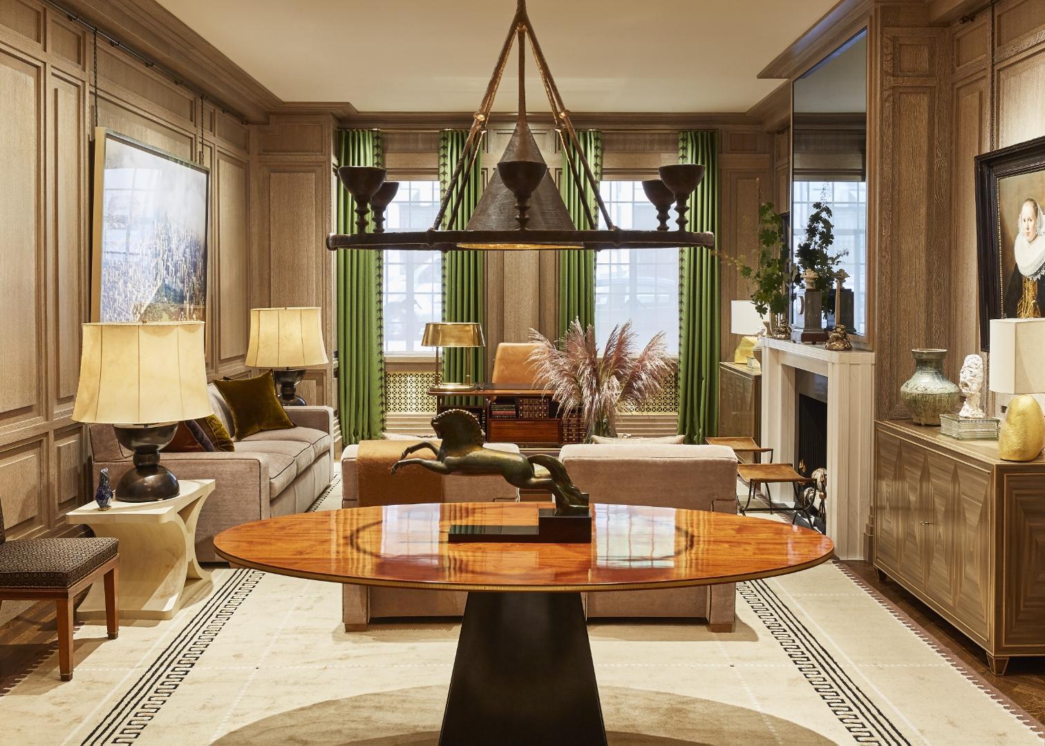 Custom Olympia Chandelier for Alexander Doherty Interiors