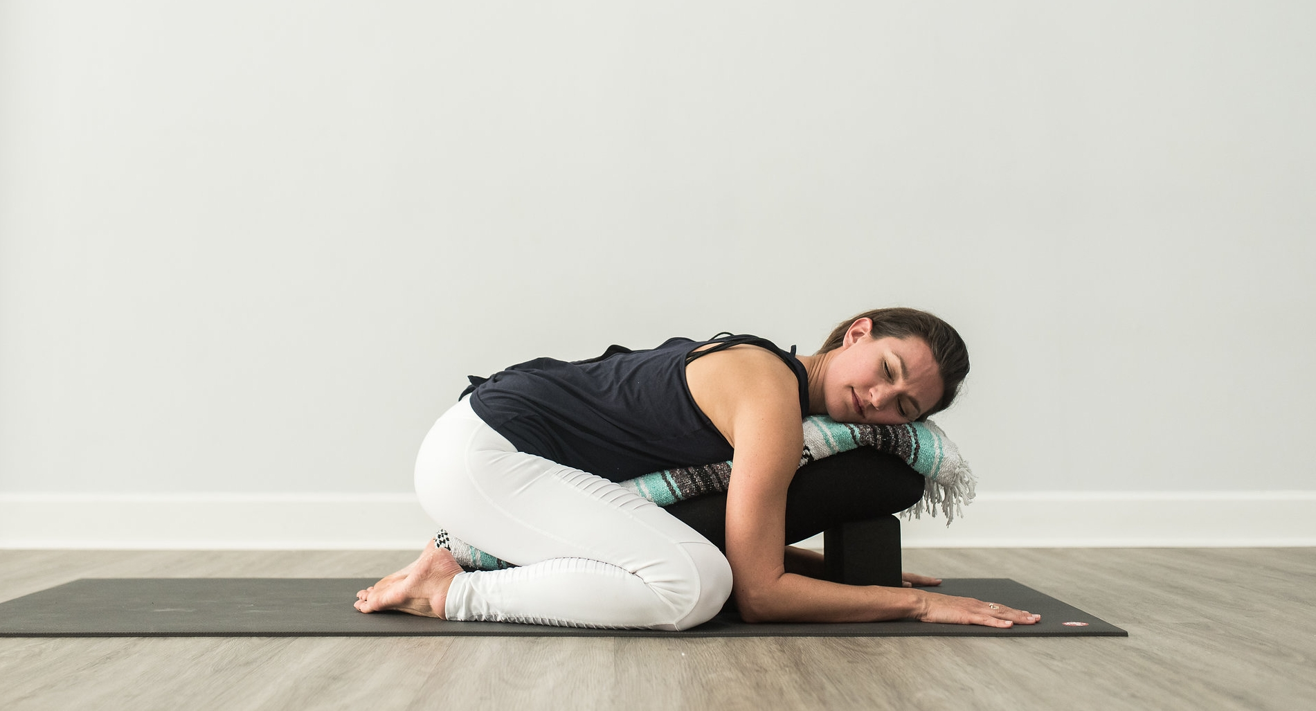 Restorative Supported Childs Pose