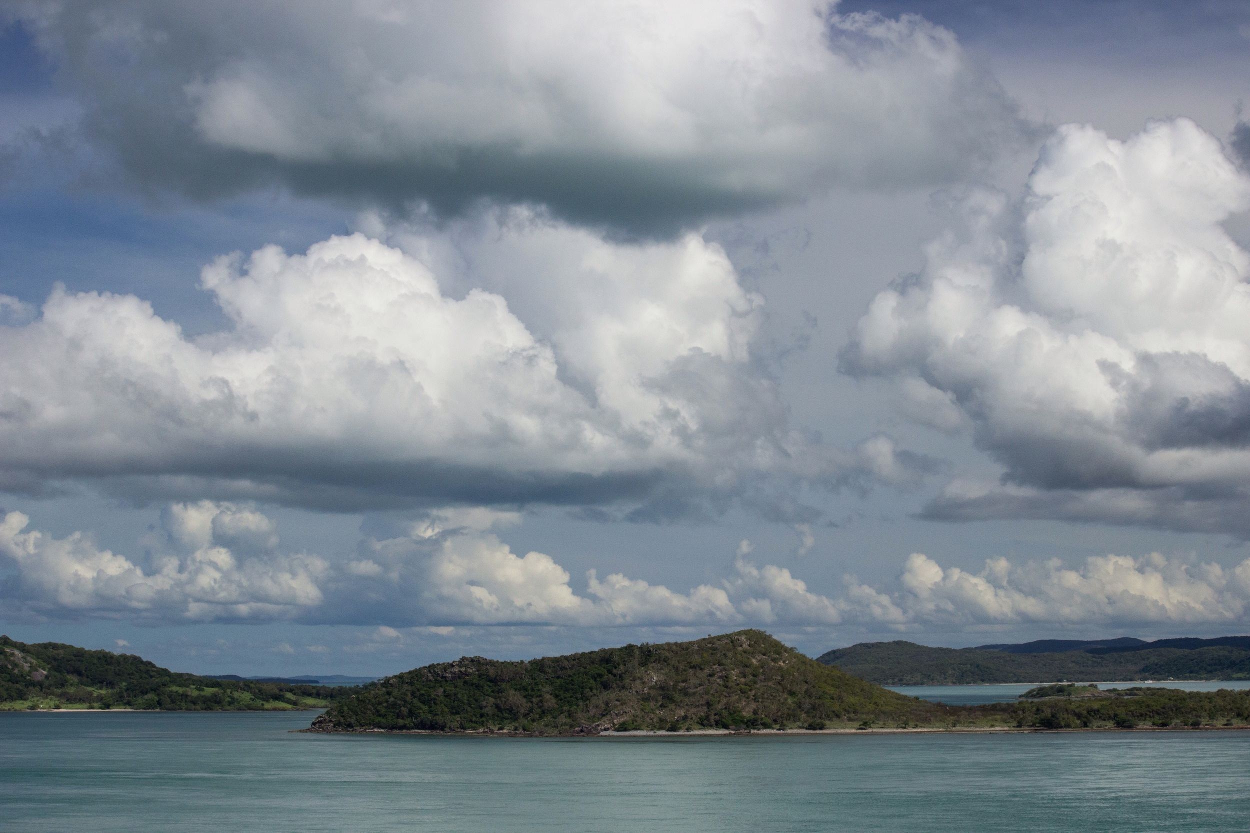 Tropical turquoise of the Torres Strait. Northern Australia.
