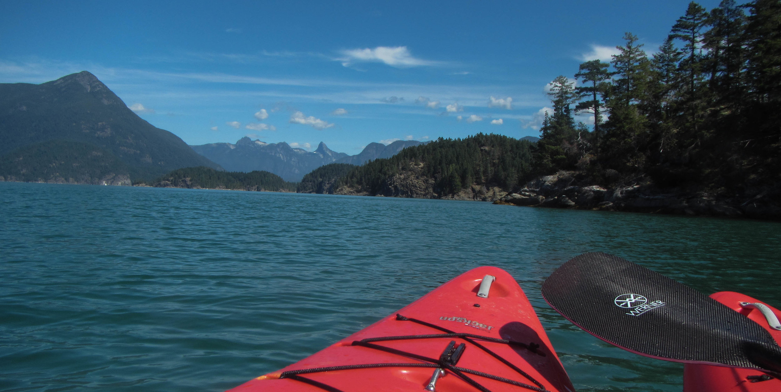The Pacific Northwest is full of opportunities for outdoor recreation. Desolation Sound, BC.