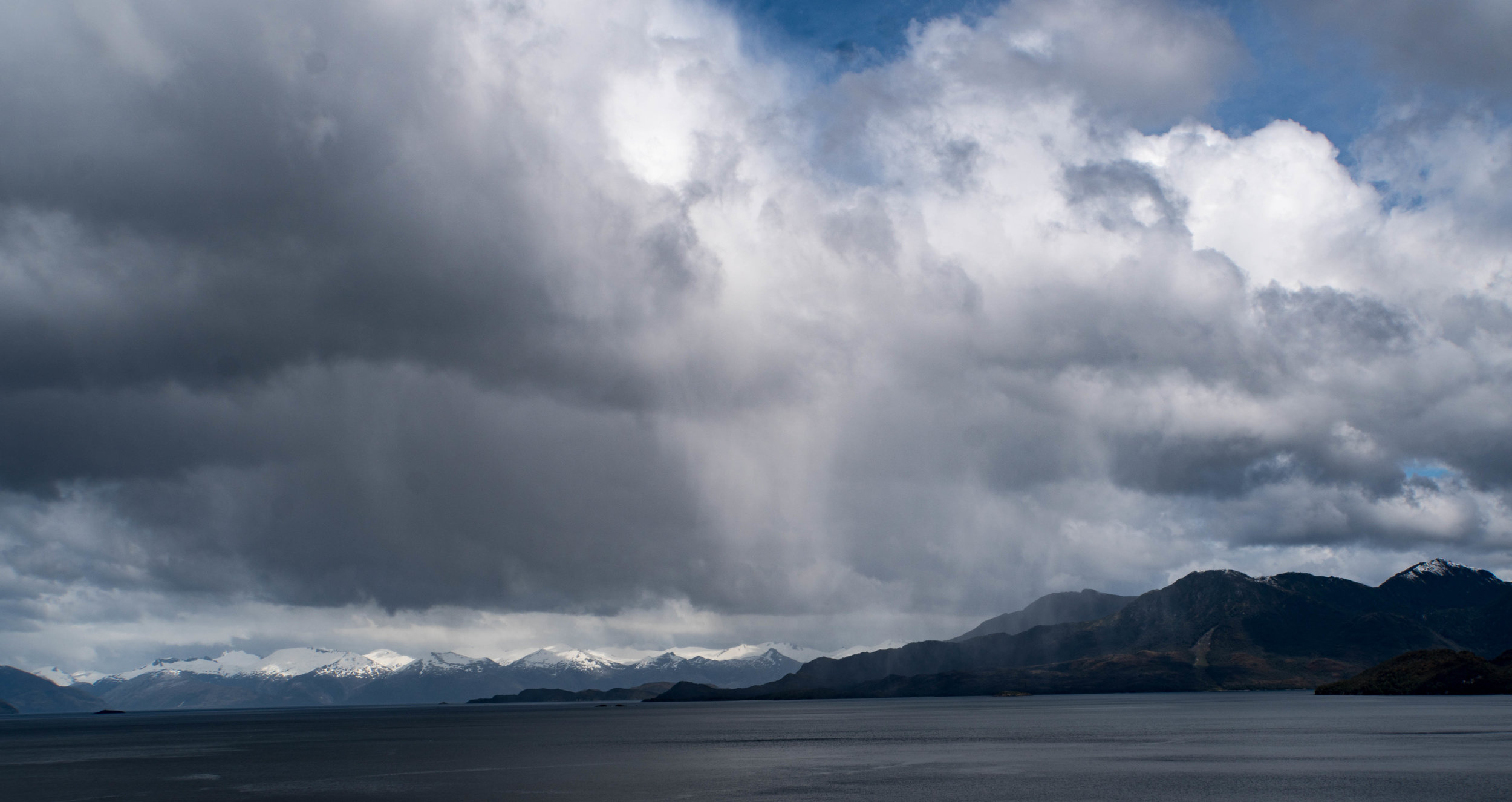 A moment that barely lasts long enough to capture. Beagle Channel.