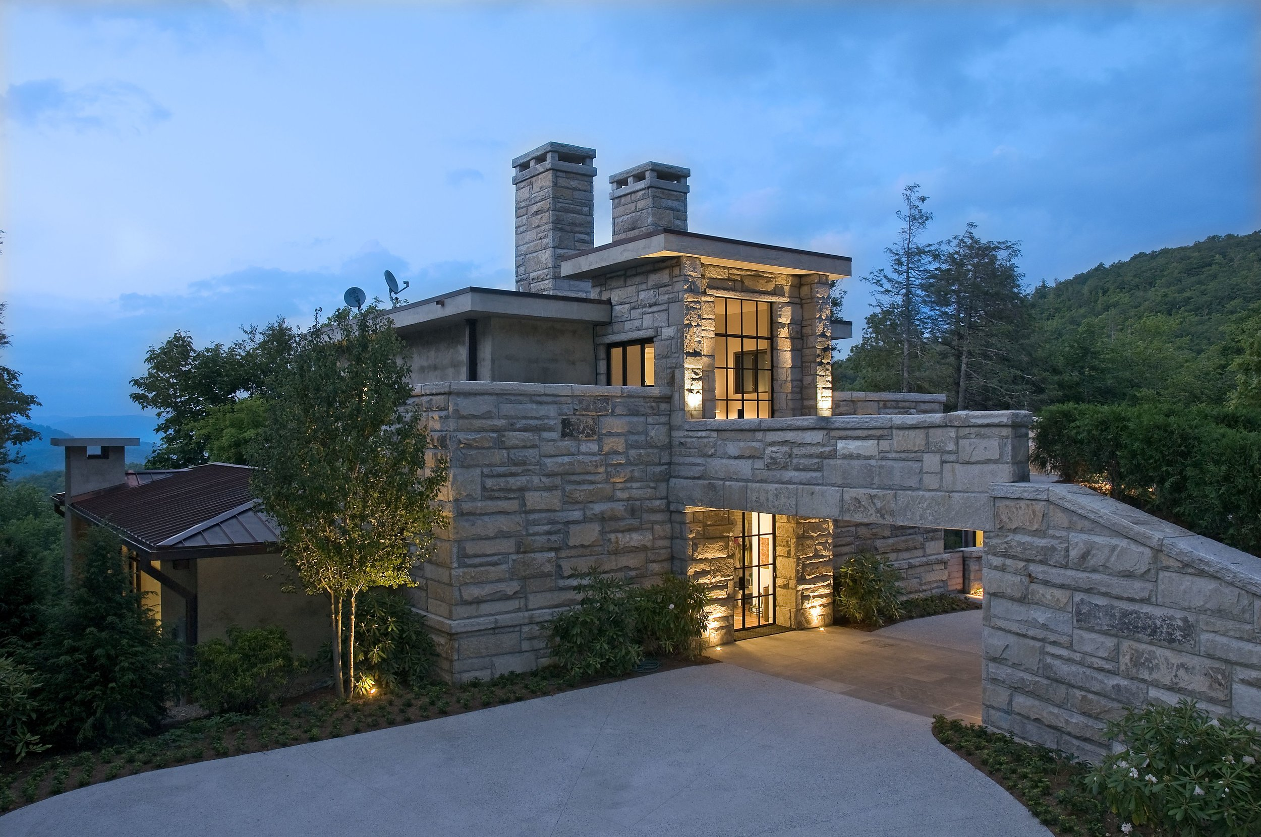 Chinquapin Contemporary | Cashiers NC