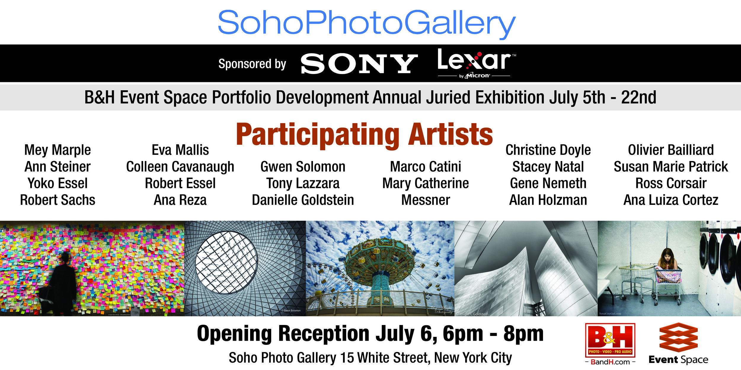 SohoPhotoGallery Announcement