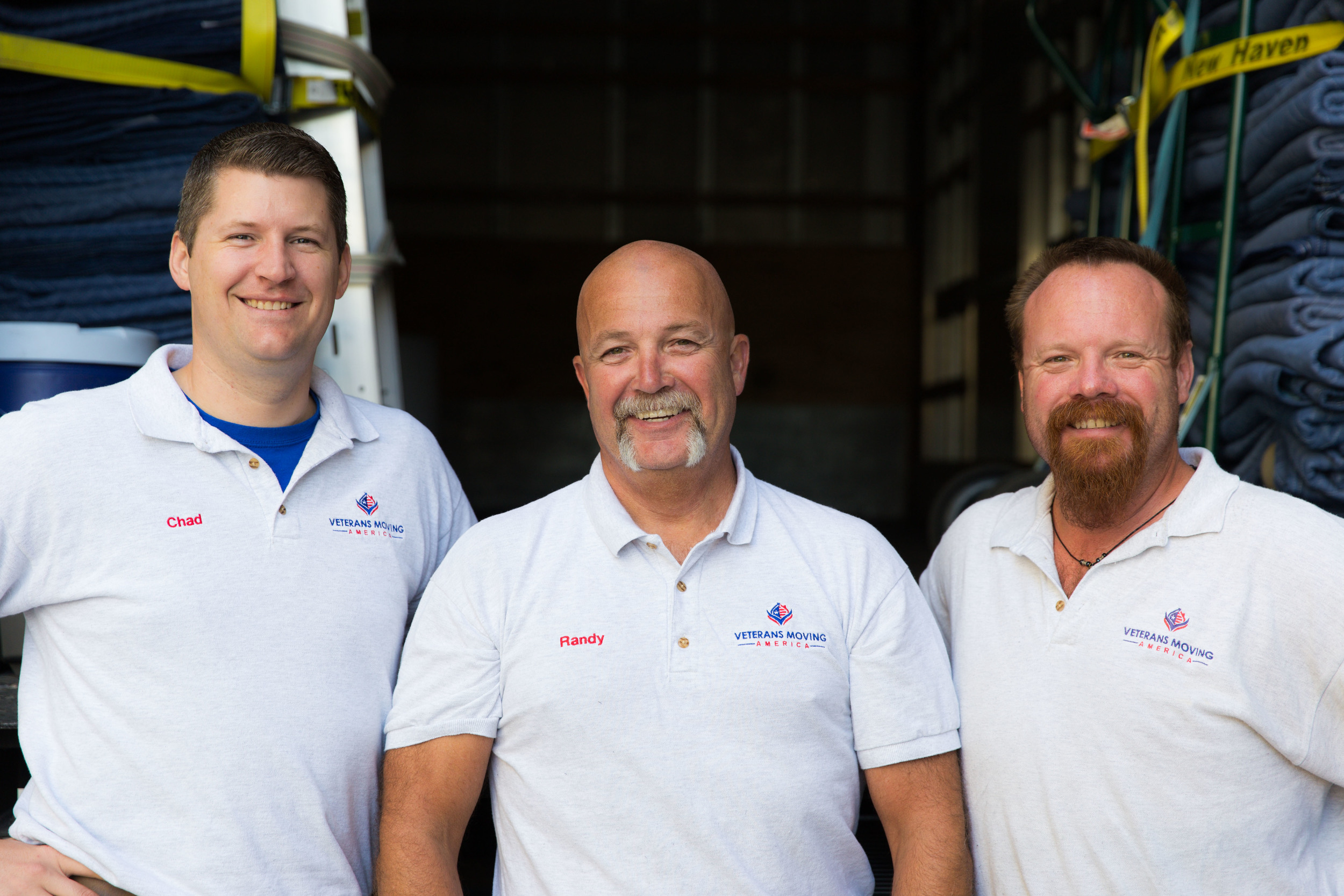 Veteran Movers with Veterans Moving America