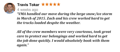 Veterans Moving America 5-star review