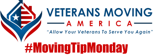 Veterans Moving America's #MovingTipMonday, moving tips, Dallas movers, Fort Worth movers.
