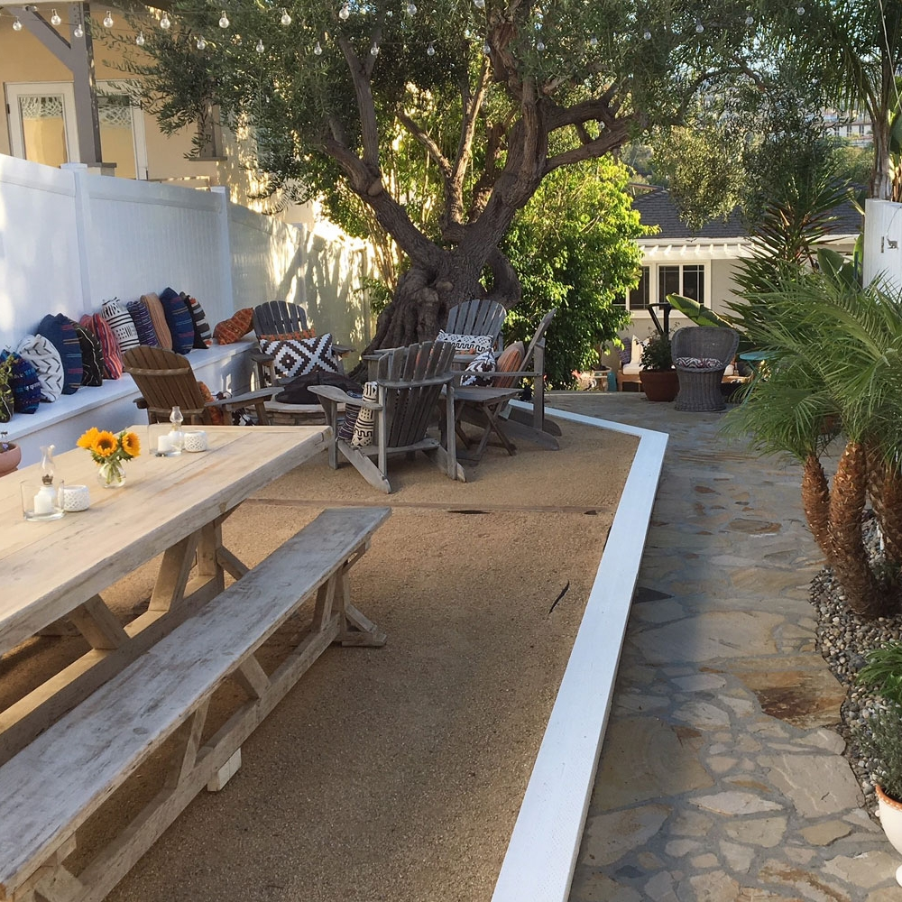 Back Yard Staging - Redondo Beach