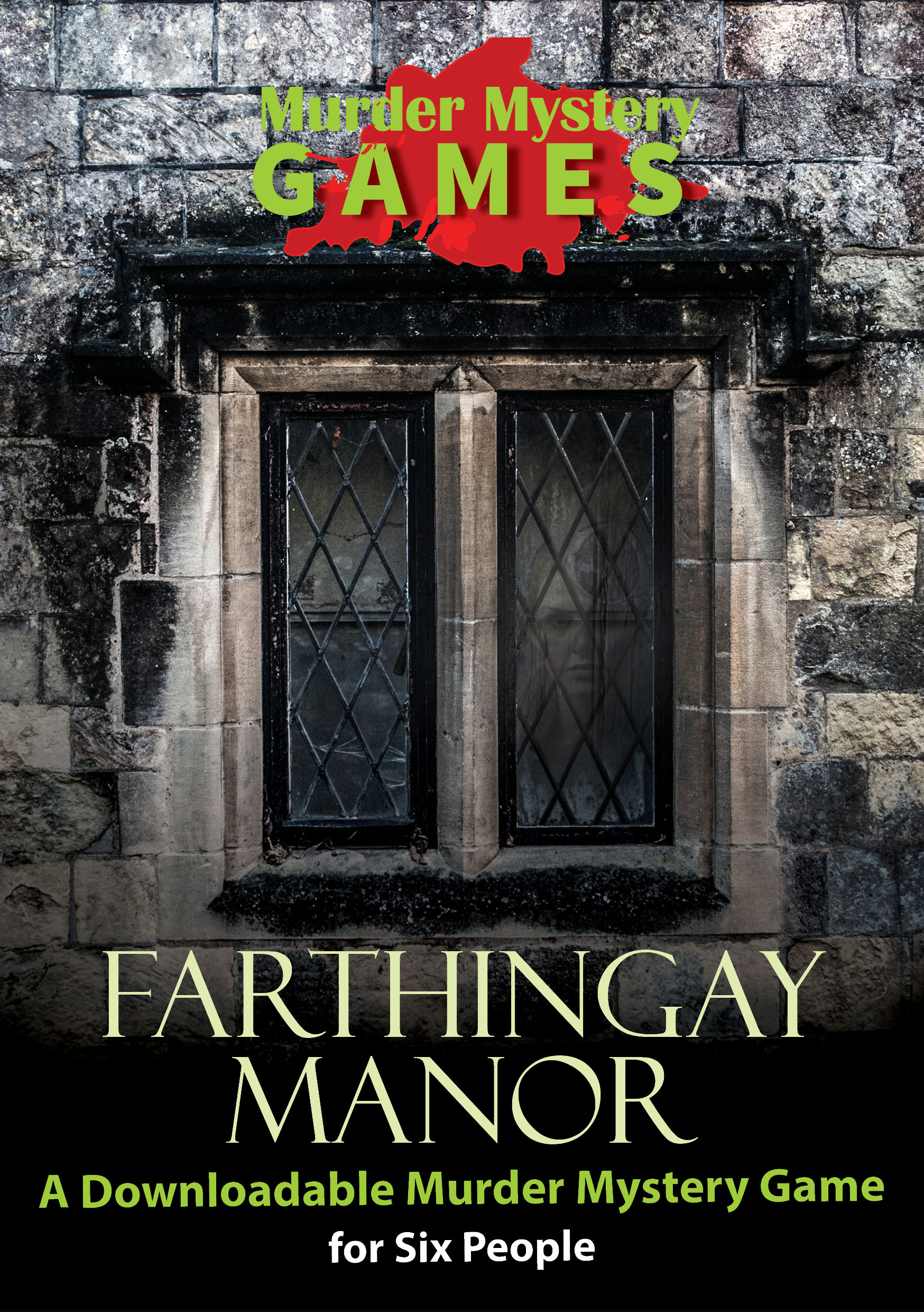 Farthingay Manor - A Murder Mystery Game for 6 People