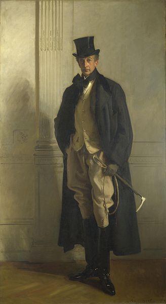 Grand Edwardian gentleman