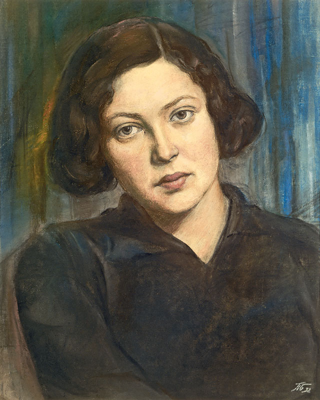 Portrait of a young woman, 1930s