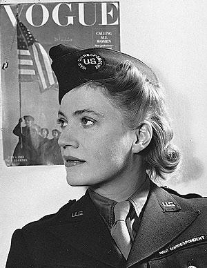 Lee Miller in uniform