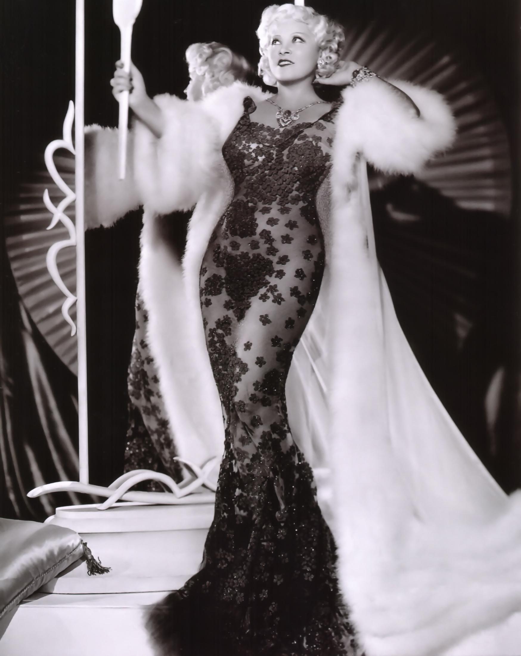 Mae West looking fabulous