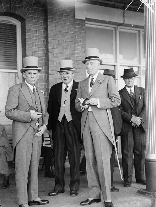 Men's high fashion in the 1930s