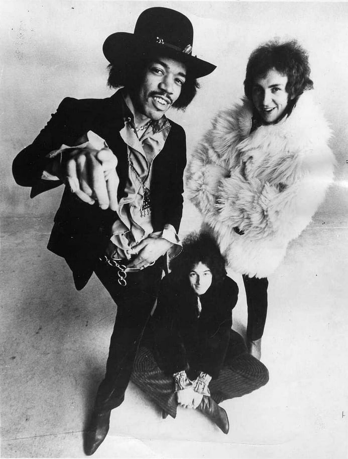Jimi Hendrix Experience 1968