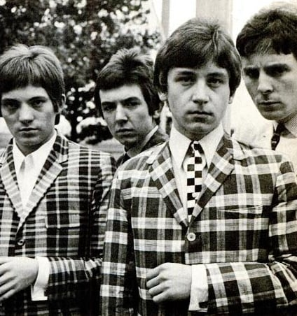 The Small Faces mod fashions 1965