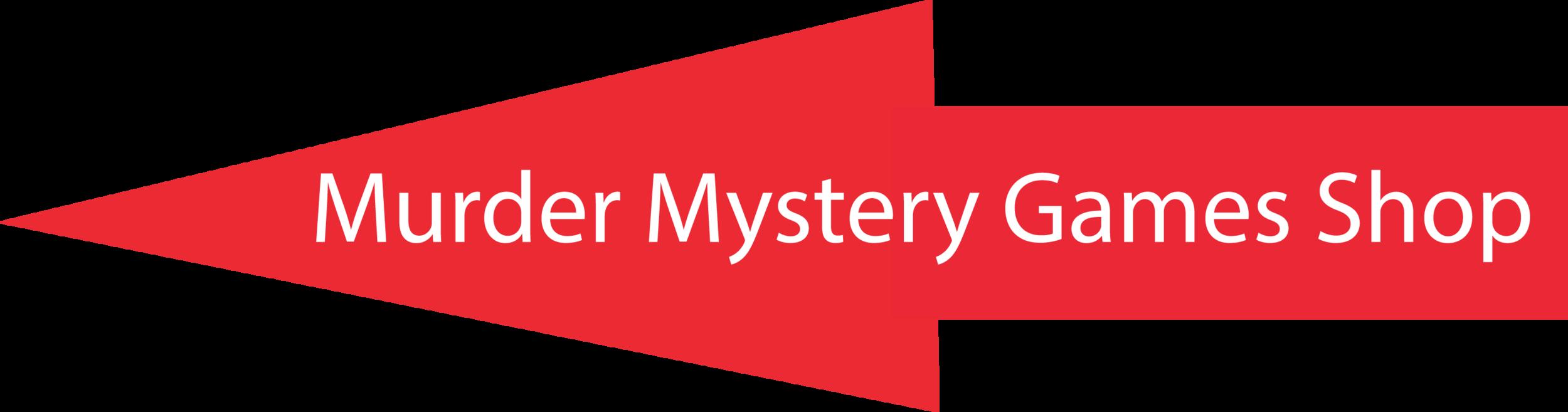 Arrow to Murder Mystery Games Shop on Murder Mystery Games website