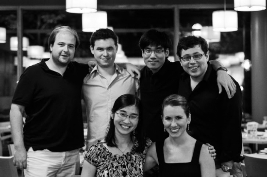 Pianists from the Ravinia Festival's International Steans Institute (July 2013)