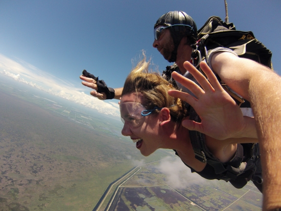 Skydiving (July 2014)
