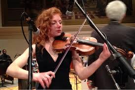 Guest musician Julia Kwolyk