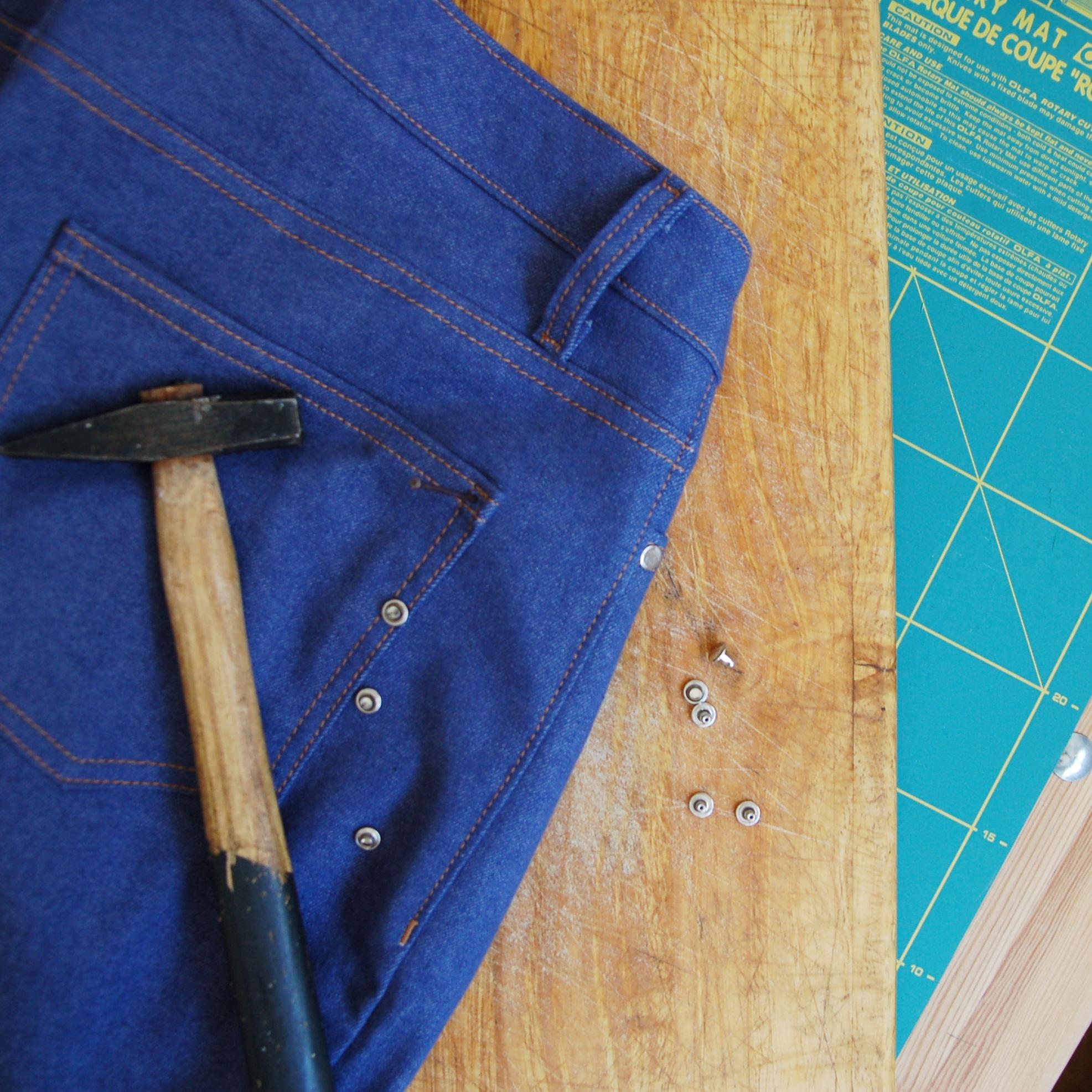Ginger jeans: mis primeros vaqueros www.studiocostura.com
