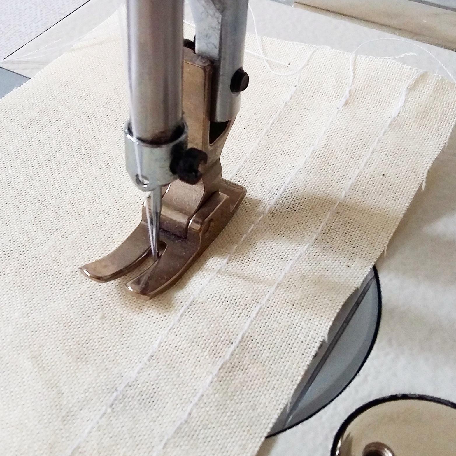 Las famosas líneas rectas...la primera clase de costura :)