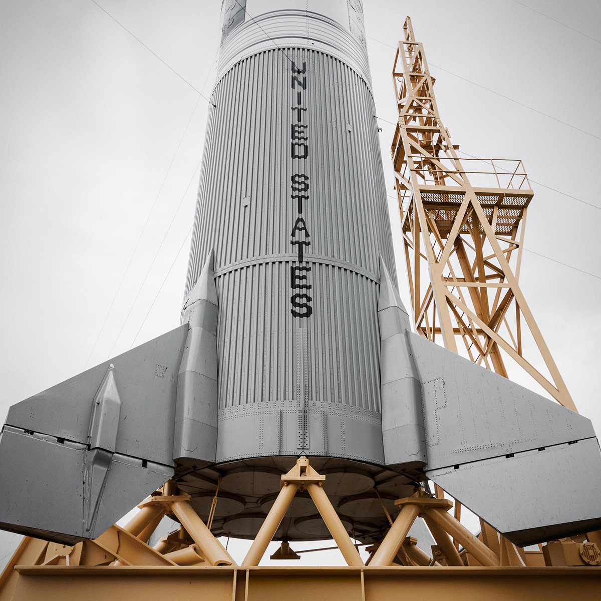 NASA United States Rocket by Jordan Reeder