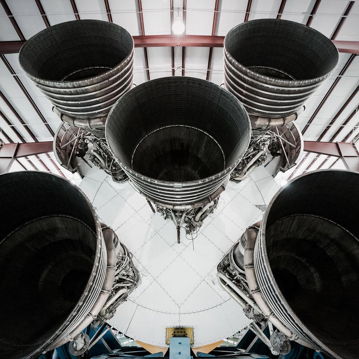 Rocket Engines at NASA Space Center by Jordan Reeder