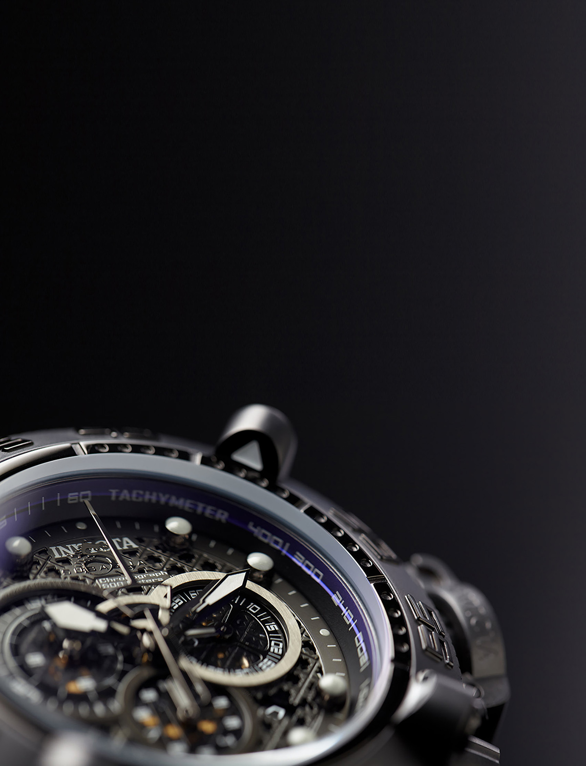 invicta watch detail close up from san jose top photo studio