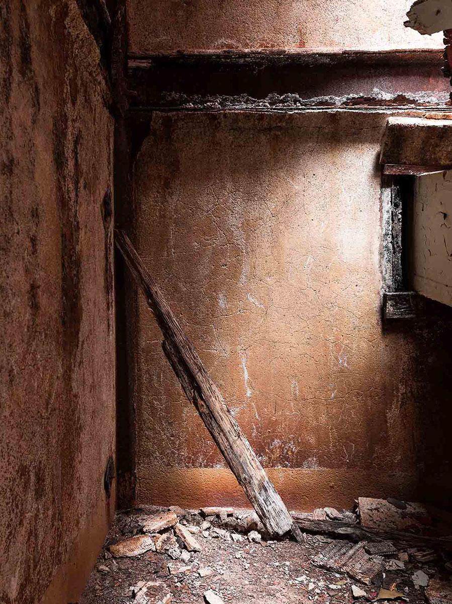 rusty deserted factory silo city ny