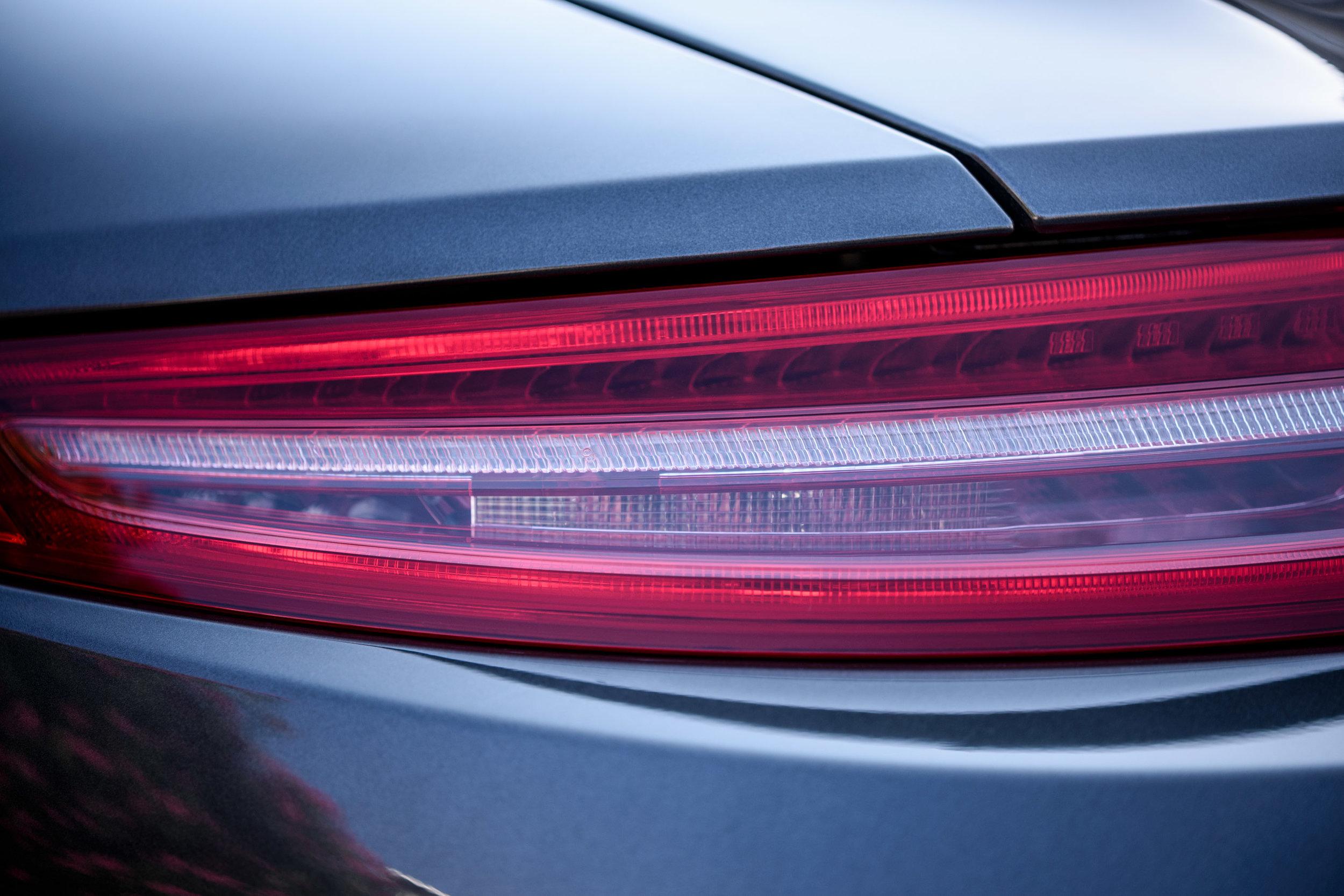 porsche 911 carrera s 2012 red taillight by Jordan Reeder