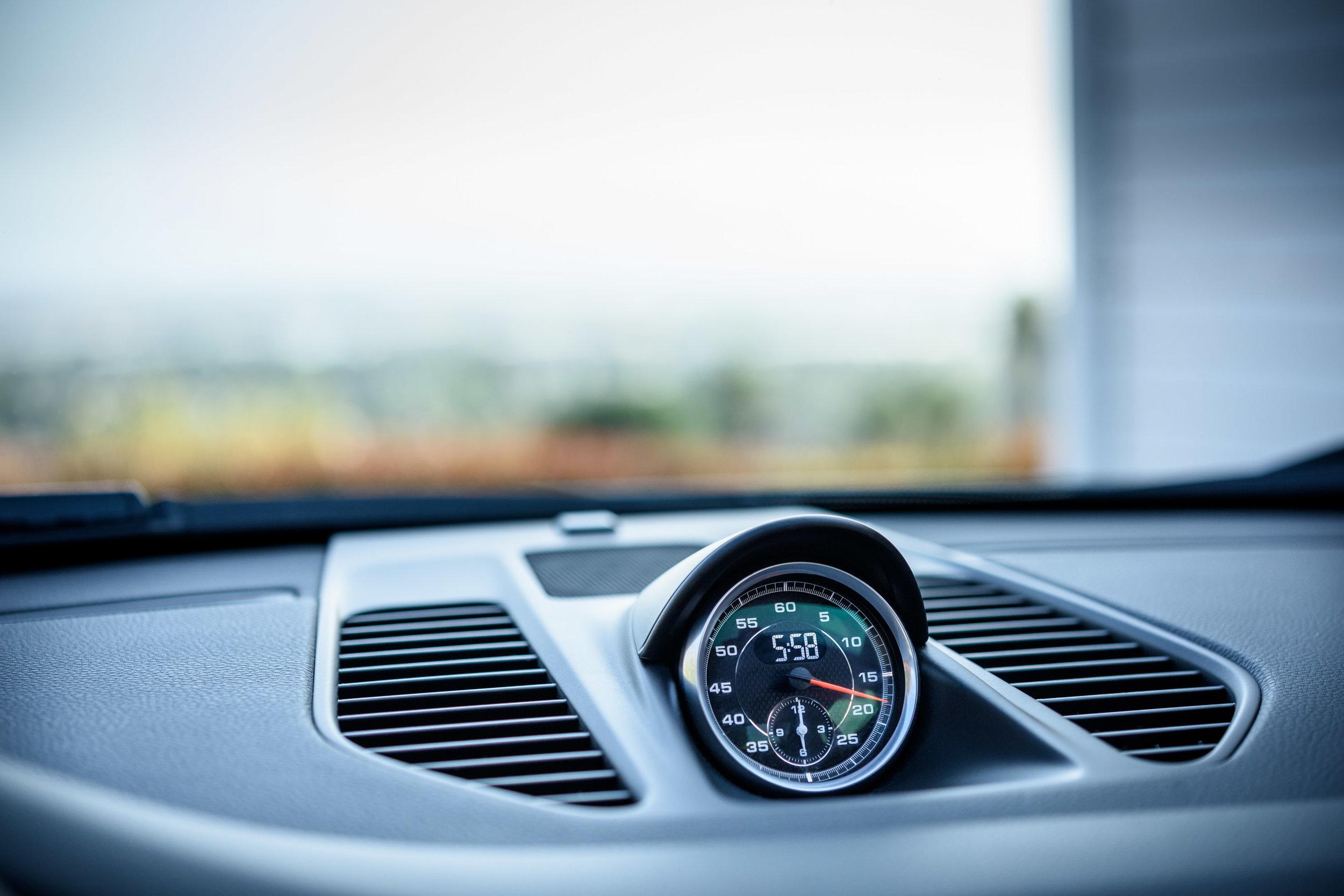 porsche 911 carrera s 2012 sport chrono gauge by Jordan Reeder