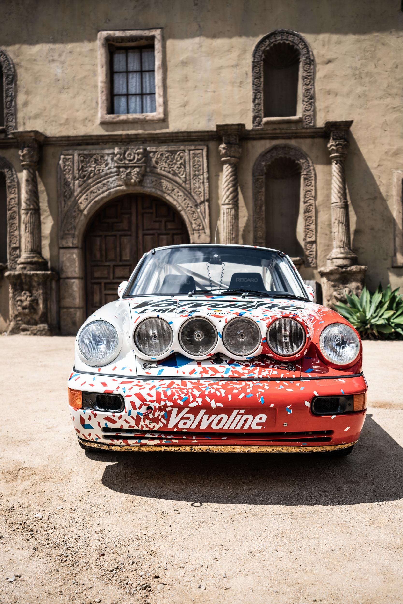 Porsche 911 Rally Car Luft 6